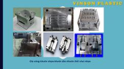 Khuôn mẫu do Nhựa Vinson thiết kế,gia công.
