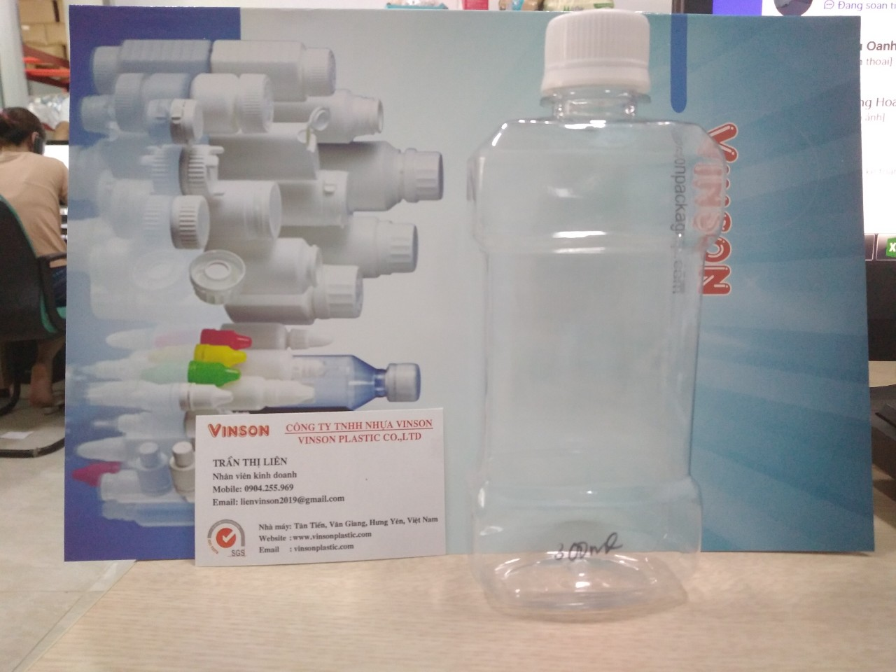 Chai nước súc miệng 250ml PET