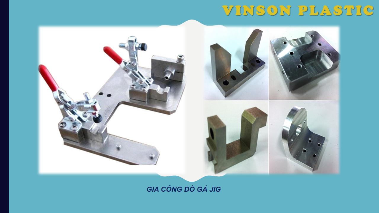 Hệ thống máy gia công khuôn mẫu đúc nhựa Vinson